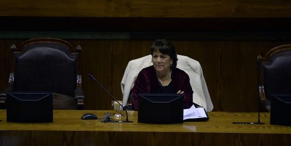 05 de Julio de 2016/VALPARAISO ,La Ministra Adriana Delpiano durante el Proyecto de ley,que crea el Sistema de Educación Pública y modifica diversos cuerpos legales que se discute en la Camara de Diputados. FOTO: PABLO OVALLE ISASMENDI / AGENCIAUNO