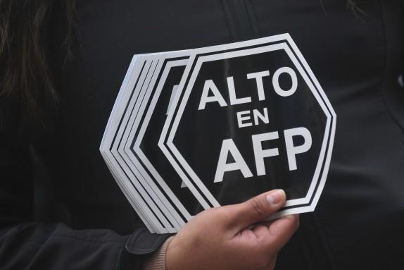 Marcha No mas AFP