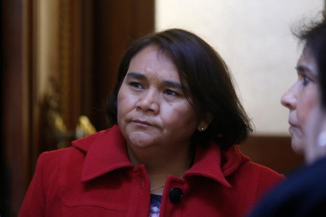Directora nacional del Sename, Solange Huerta, declara en Fiscalía como testigo por muerte de menores