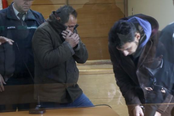Formalización de Raul y Gustavo Aravena por homicidio delincuente