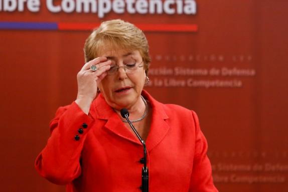 Presidenta de la Republica promulgo ley que Perfecciona el Sistema de Defensa de la Libre Competencia