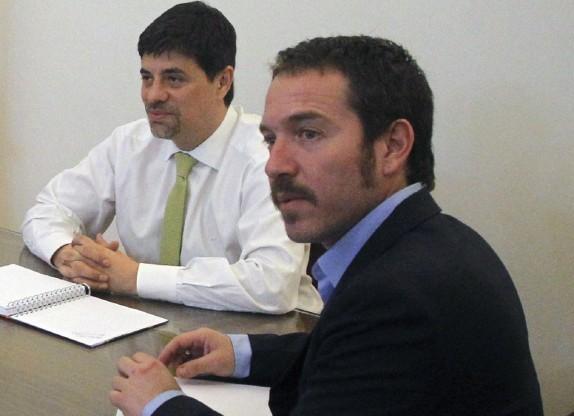 Vocero de Gobierno se reune con el nuevo Director de la SECOM