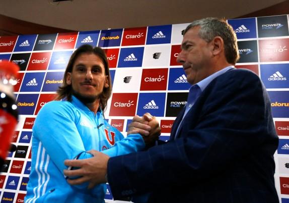Castañeda es el nuevo entrenador de la U