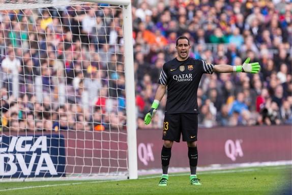Claudio Bravo explica sus motivos para dejar Barcelona