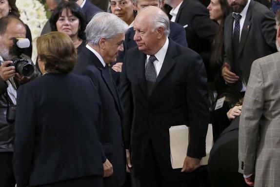 Funerales de estado del ex presidente Patricio Aylwin en Ex Congreso de Santiago