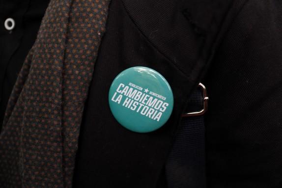Revolucion Democratica entrego firmas en Servel