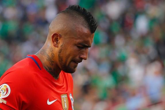 El inesperado enojo de Arturo Vidal en la práctica de la Roja