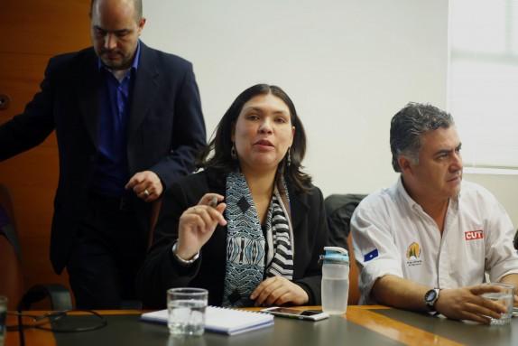 Ministerio de Hacienda se reunion con Mesa del Sector Publico