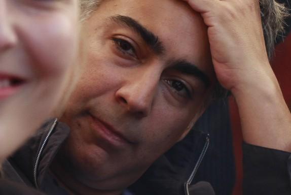 Marco Enríquez-Ominami realiza punto de prensa