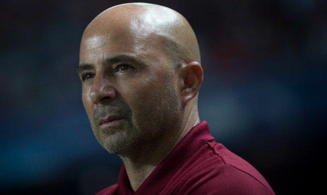 """Maradona, duro admirador de Jorge Sampaoli: """"Me parece el mejor director técnico del momento"""""""