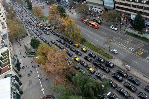 Ésta es la vista que tendrías desde uno de estos vehículos... pero faltan años todavía para eso