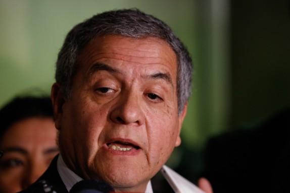 Punto de prensa de Ministro Mario Carroza