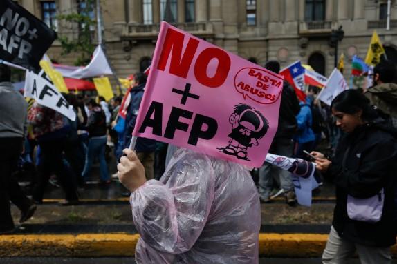 Marcha no m‡s AFP
