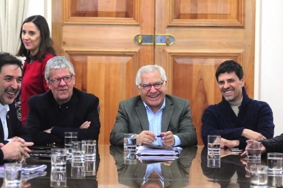 Presidentes de los partidos de Chile Vamos se reúnen con Ministros de Gobierno