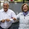 Elecciones Municipales 2016 Evelyn Matthei y Sebastian Piñera desayuno con adherentes