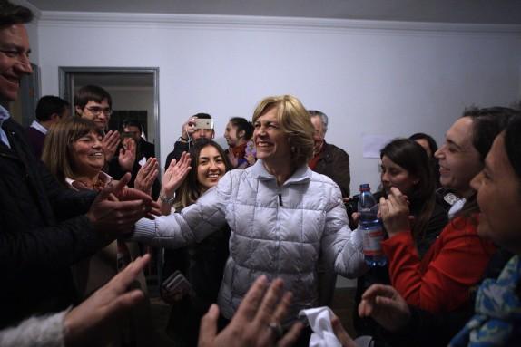 Evelyn Matthei gana la Alcaldia de Providencia
