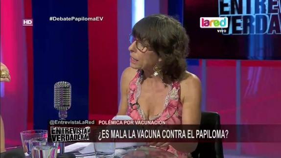 """Los anti vacunas y el nuevo """"show"""" de Cristina Girardi"""