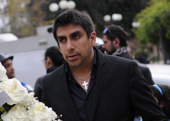 Velorio del actor y cantante Jorge Pedreros
