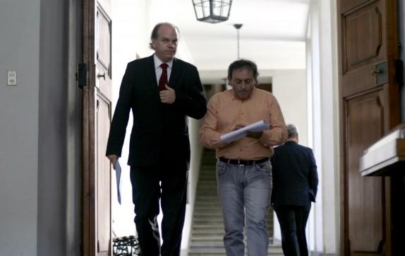 El ministro del interior se reune con autoridades de la region de Aysen