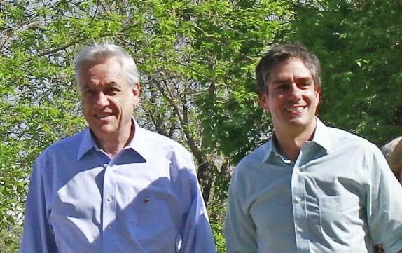 Candidatos a alcaldes por las comunas del sector oriente de la Alinza realizan punto de Prensa junto a Sebastian Piñera