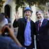 Alejandro Guiller se fotografía con candidatos de la Nueva Mayoría