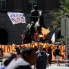 Manifestacion contra las AFP en Plaza de Armas