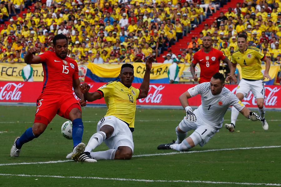 Chile se sobrepone al calor y las lesiones para conseguir un punto de oro en su visita a Colombia