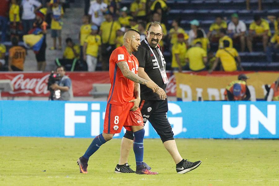 """Arturo Vidal avisa que lo dejará todo por Chile: """"Voy a jugar igual contra Uruguay"""""""
