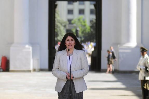 Ministra Secretaria General de Gobierno Paula Narvaez