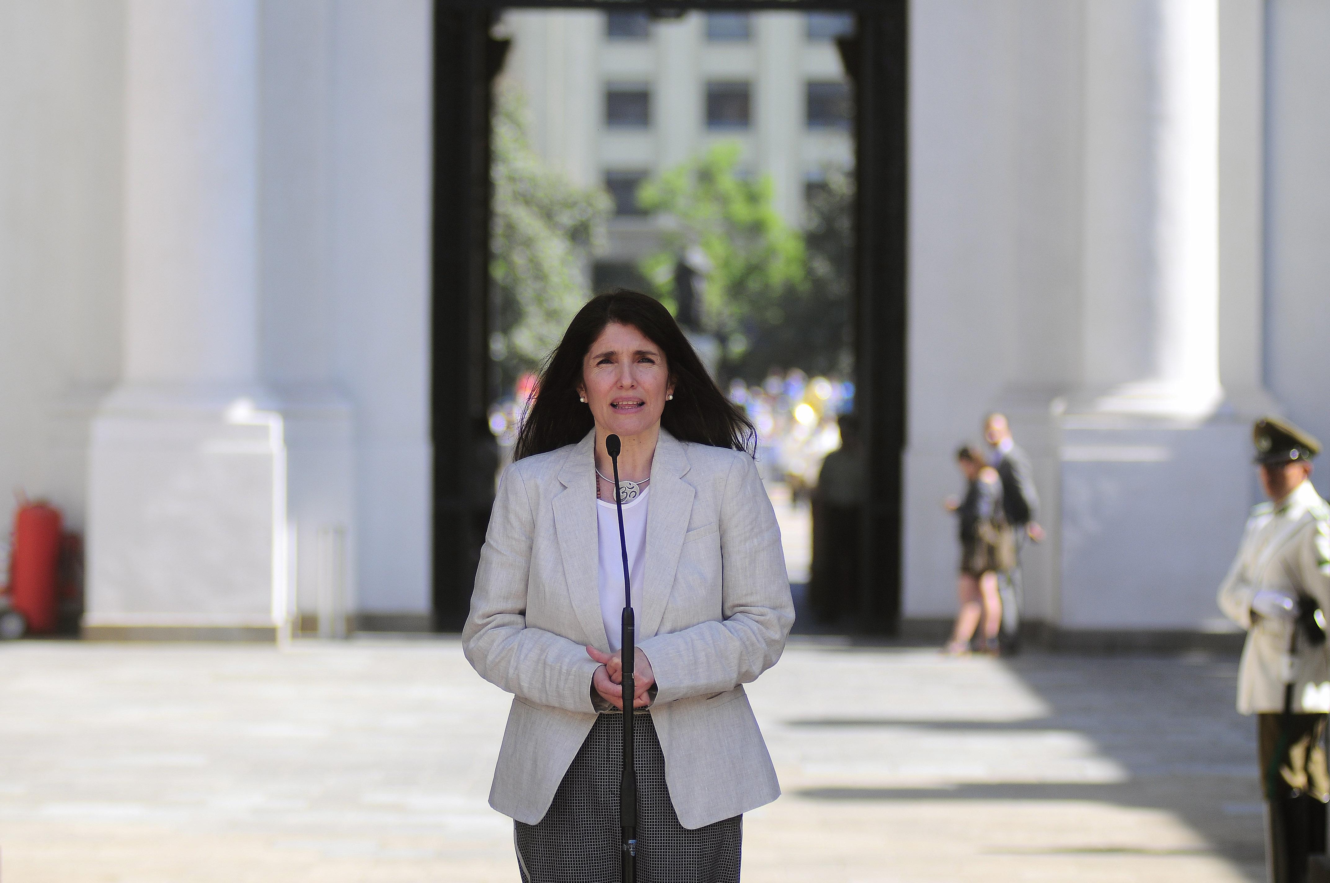 """Nueva vocera de Gobierno: """"Vengo a sumarme a un trabajo"""" y no a """"desarmarlo"""""""