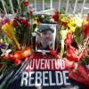 Centenar de Personas llegan hasta la Embajada de Cuba para para presentar su homenaje A Fidel Castro por su muerte