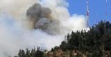 Incendio en el cerro San Cristobal
