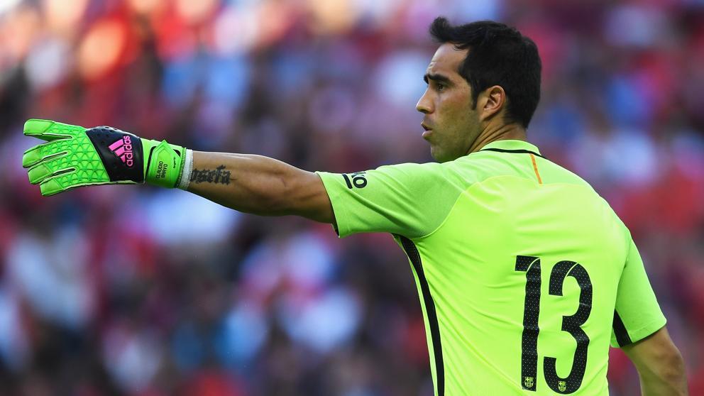 VIDEO |El enredo que se vivió en el arco del Manchester City y que Claudio Bravo no pudo detener