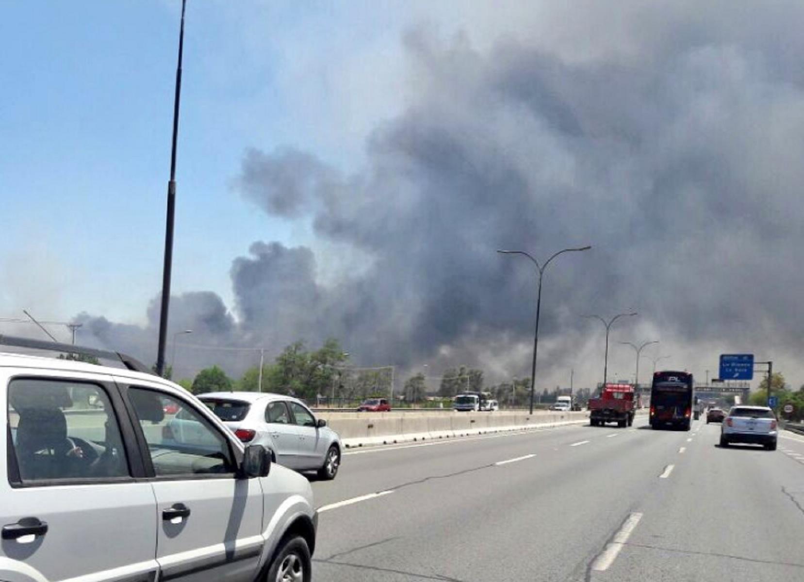 Ministerio Público indaga presunta intencionalidad de incendio en San Bernardo