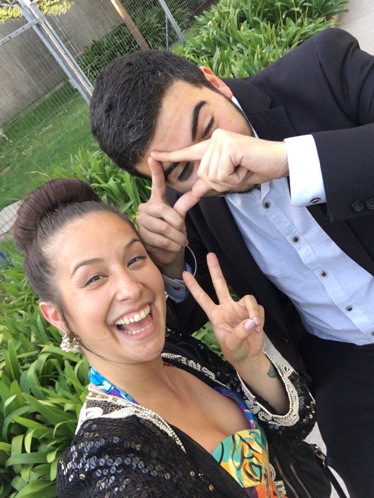 VIDEO | Así fue la cita entre Denise Rosenthal y el joven que la invitó a comer papas fritas con la Junaeb