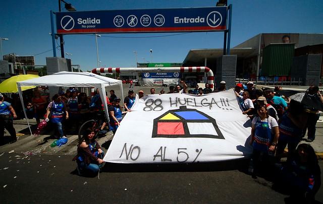 Homecenter Sodimac aclara que no existe negociación con trabajadores para deponer movilizaciones