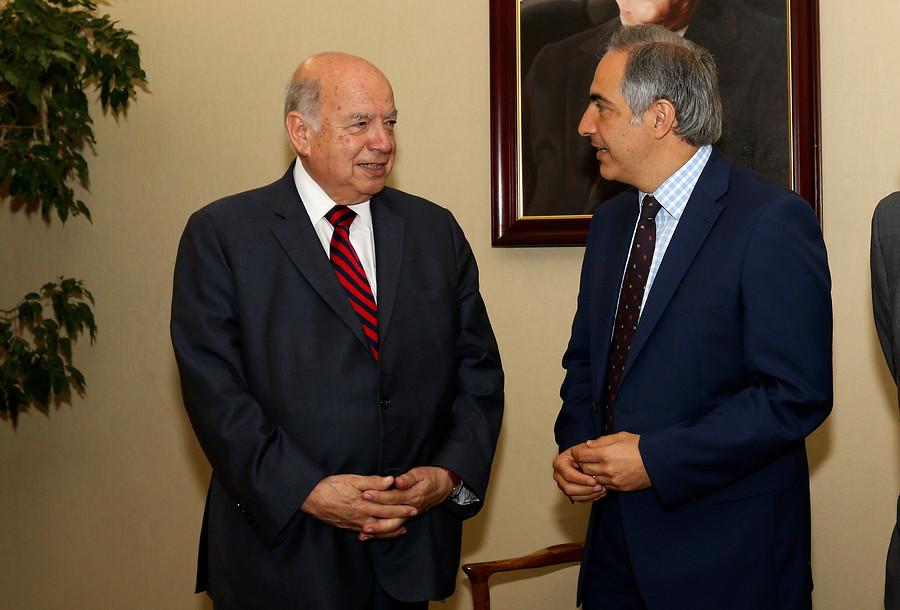 "Senador Chahuán lamenta ""voltereta"" de Insulza: ""La expectativa era que siguiera"""