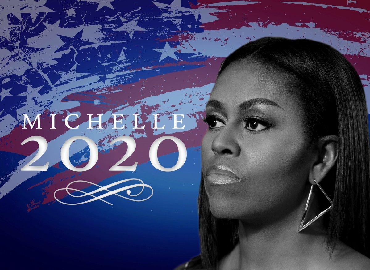 VIDEO  Así reacciona Michelle Obama cada vez que le piden ser candidata presidencial