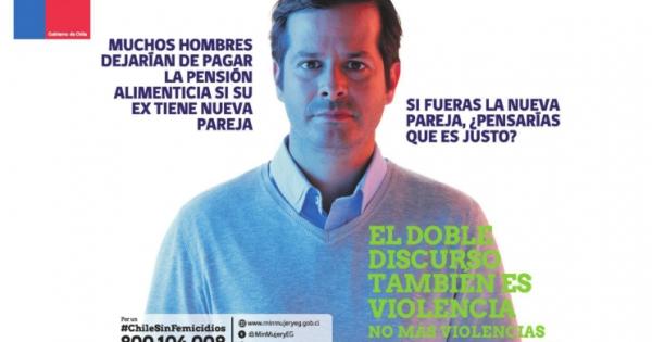 Fail del Sernam: actor que protagoniza campaña contra violencia a la mujer debe pensión alimenticia