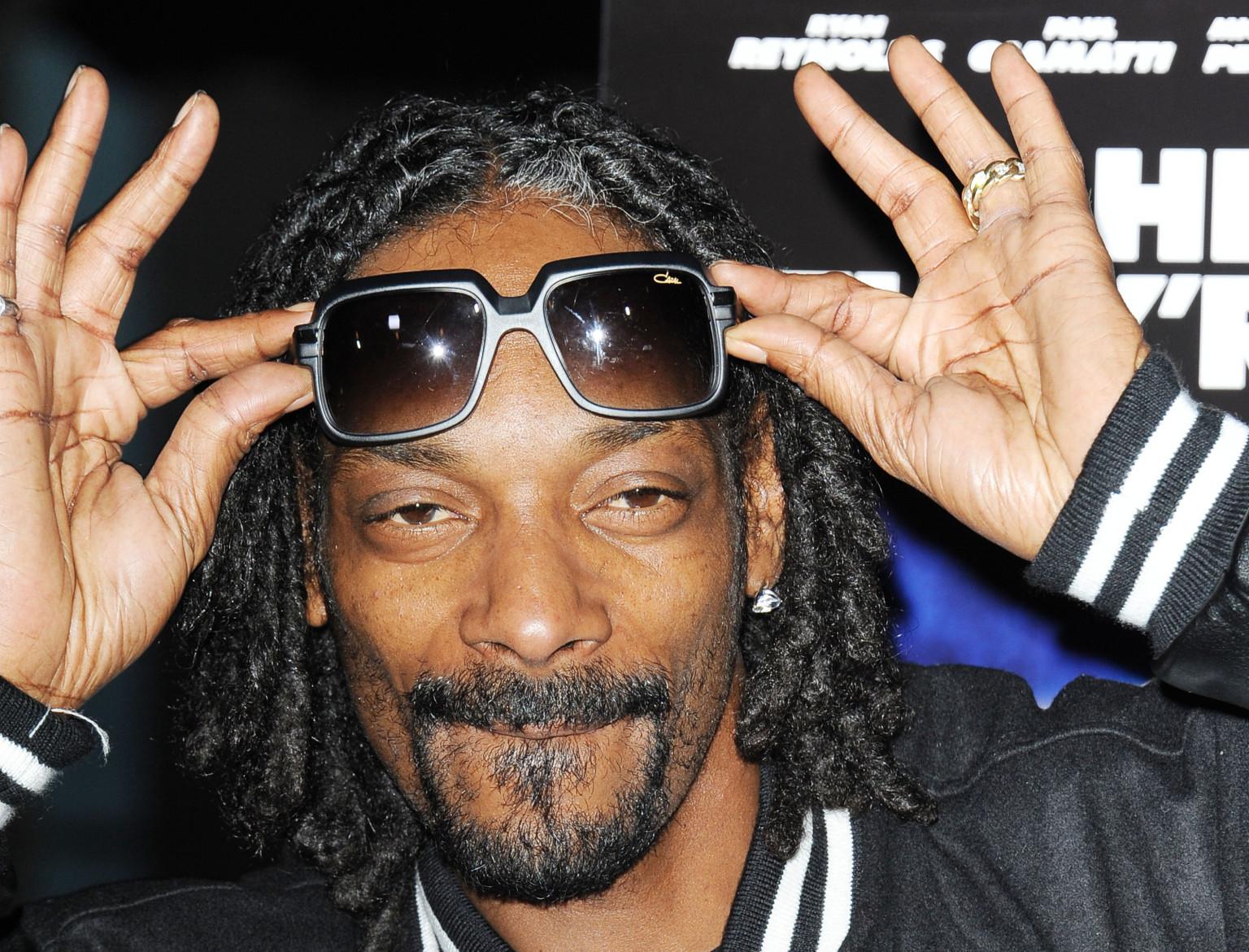 Así reaccionó Snoop Dogg cuando supo que la marihuana se había legalizado en California