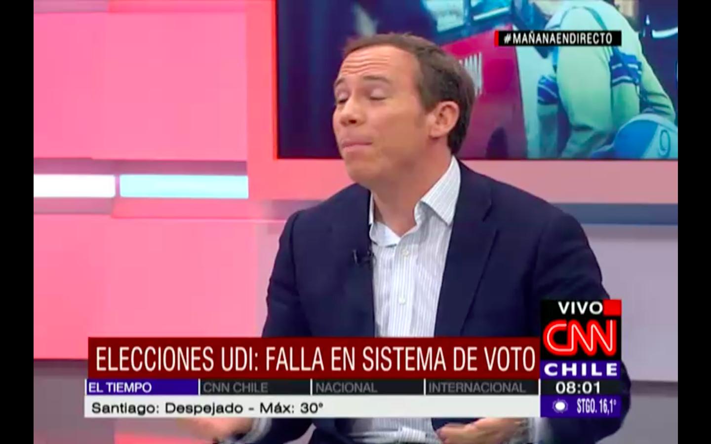 """Jorge Alessandri: """"La UDI se levanta como un partido más moderno y democrático"""""""