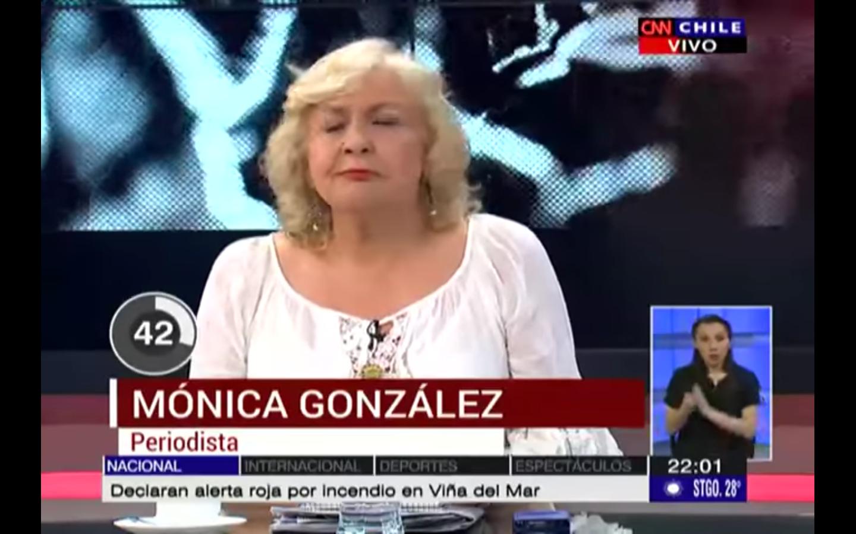"""Mónica González vs. """"los hombres que lucraban con niñas del Sename"""": el video que todos comentan"""