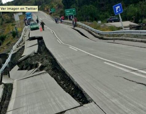 FOTOS   Terremoto en Chiloé copó las portadas de los principales medios internacionales