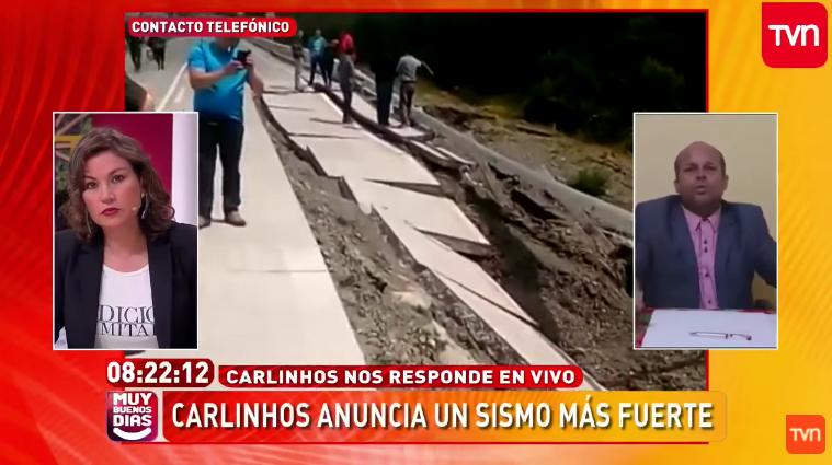 CNTV recibe 86 denuncias contra matinal de TVN por vidente brasileño