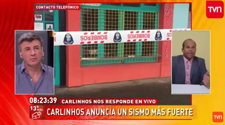 """Formularán cargos contra TVN por poner al aire """"predicción"""" de 500 mil muertos en Chile"""