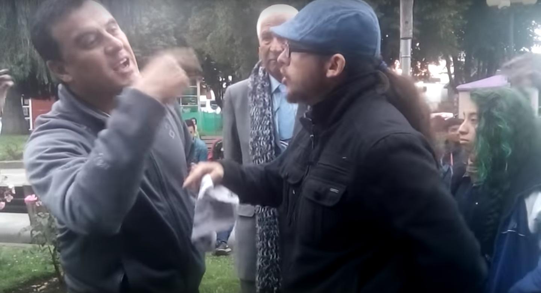 VIDEO   El furioso backstage de Ramón Ulloa tras cortar despacho en vivo
