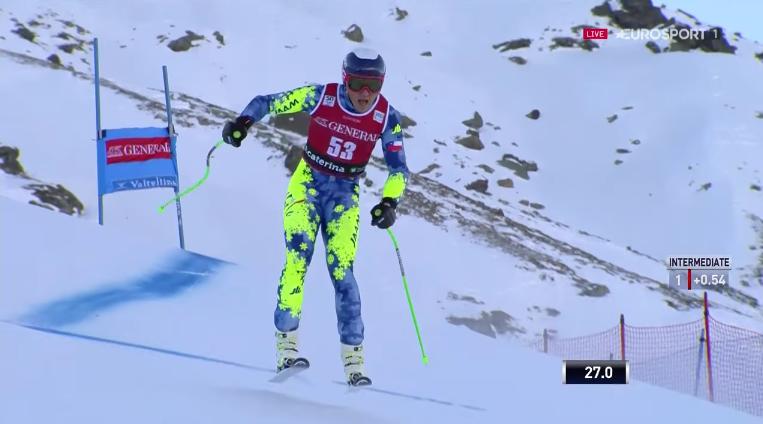 VIDEO |Henrik Von Appen sufrió brutal caída en la Copa del Mundo de esquí