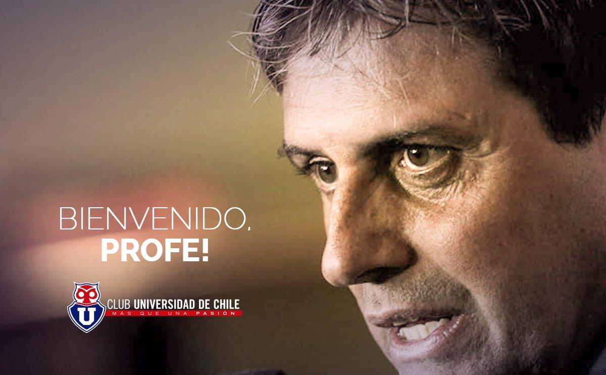 Ya es oficial: Angel Guillermo Hoyos es el nuevo entrenador de Universidad de Chile