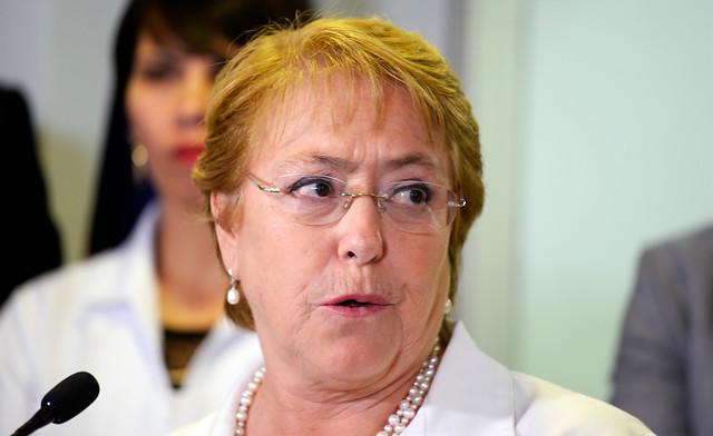"""Michelle Bachelet: """"Está totalmente descartado continuar en la política chilena (…). Ya es suficiente"""""""