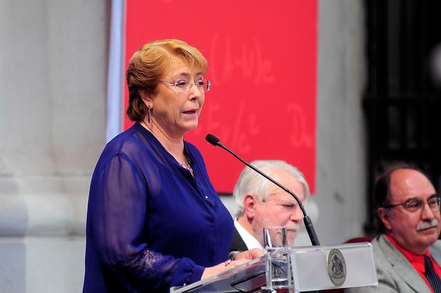 """Michelle Bachelet por Caso Caval: """"Hablaré más cuando no sea presidenta, creo que hablar sería interferir"""""""